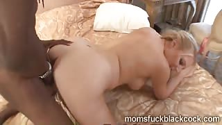 Young brotha bangs a big booty blonde MILF Kara Knox