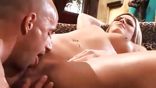 Sexy Blonde Girl Tongues And Rides Matching Boners