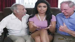 Broke Teen Aaliyah Hadid Gets Fondled By Old Men