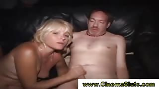Mature babe licked and fucked
