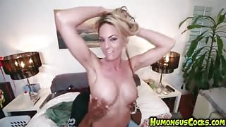 Sindy Lange Is A Crazy White Girl With A Passion For Big Dicks