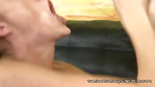 Freaky Chick Gets Fucked Hard In The Throat