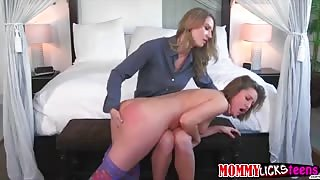 Eva long and Skye in an intense lesbians fingerfucking