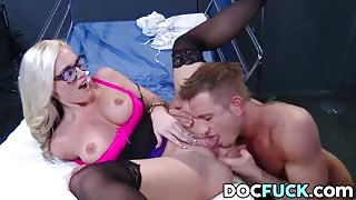 Alena Croft and Doc Fuck