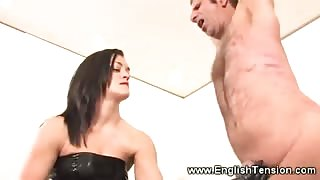 Prodomme is flogging her subject