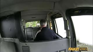 Blonde European Ella gets fucked by a driver