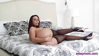Teen Dillion taught some sex techniques by busty MILF