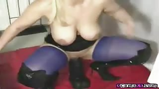Destroying My Holes With a Big Black Dildo