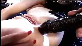 Julie Silver anal fisting