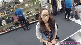 Public box College Student Banged in my pawn shop!
