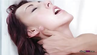 Sexy Brunette Teen Gets Fucked Hard By Her Violin Tutor
