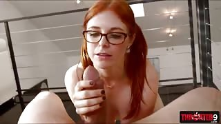 Penny Pax gets facialed after deepthroat