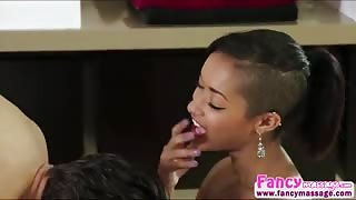 Ebony Skin Diamond gets cheated by boyfriend and have her revenge