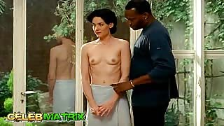 Wanton Anne Coesens Gets Banged By Two Men