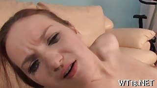 Hot anal exploration