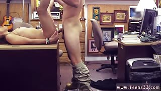 Big white girl first time College Student Banged in my pawn shop!
