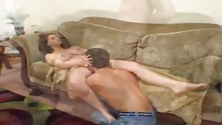Titillating Wife Blows and Bangs A Cock!
