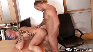 Ass barebacked and cummed on