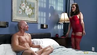 Hot Whore Screws Another Man's Large Rod On Valentines Day