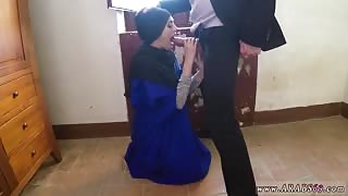 Cute asian teen blowjob 21 year old refugee in my hotel apartment for