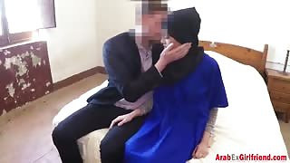 Hot Arab chick is banged in doggystyle