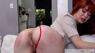 Bad girl punished and spanked Permission To Cum
