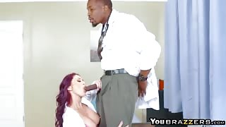 Horny nurse Monique and Doctor fucking patient Ivy