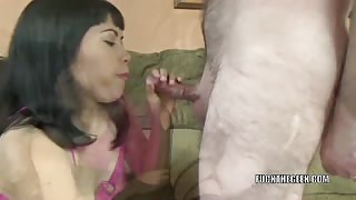 Yuka Ozaki takes a dick in her Asian twat