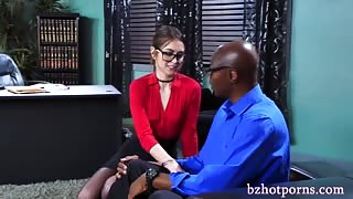Awesome blowjob satisfies a hunk doctor Sean Michaels bzhotporns.com
