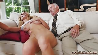 Old milf teacher and old man fucks young girl Molly Earns Her Keep