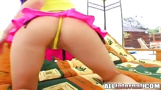 All Internal Busty teen Afrodithe takes a big load in her pussy
