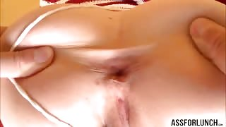 Blondie girl Miley gets pounded by a big hard cock