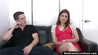 Next door girl at porn audition