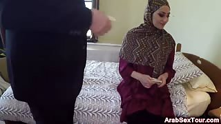 Doggy style Arab amateur girlfriend fuck hotel room