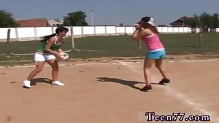 Give me pink dildo hd Sporty teenagers licking each other