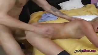 Young Slut Liyla Shay Gets Her Hole Drilled