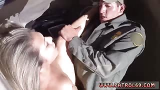 Police interrogation first time The officer undressed her down, and