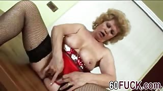 Dirty Granny Blows Stiff Cock And Gets Banged