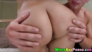 Big round ass girl Jynx Maze twat banged by huge dick