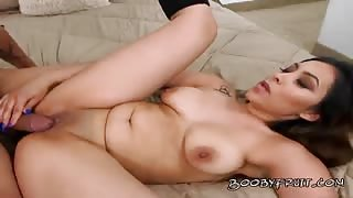 Luscious Babe Trixie Tao Gets Banged By Gardener