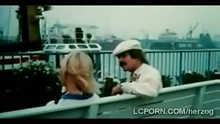 Mustache perv fucks vintage hotties in the cruise pool