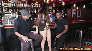 Busty Mom Mercedes Carrera Worships Black Dicks And Gets Fucked