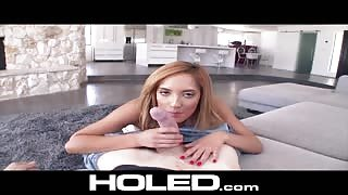 HOLED Chloe Amour POV blowjob
