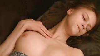 Very hot titty brunette with big tits