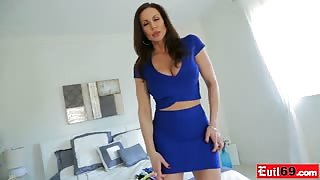 Panties fetish fuck with hot busty MILF Kendra Lust