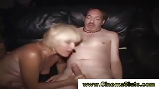 Group fuck in real public cinema
