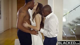 BLACKED Tali Dova cheating girlfriend fucking black dick