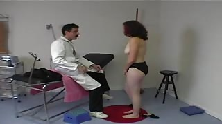 Ginger Coed Has Ass Checkups