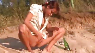 charming natasha teen naked on the beach