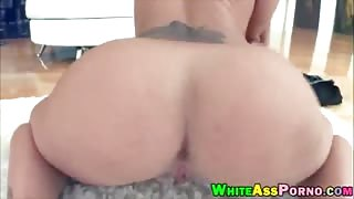 Phat booty Austin Taylor gets her pussy pounded by big cock